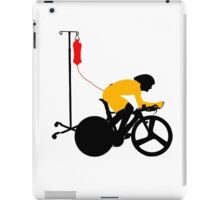 Cyclist Blood Doping iPad Case/Skin