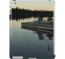 Empty - Reflecting on Sunset Serenity iPad Case/Skin