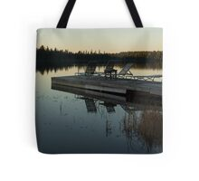 Empty - Reflecting on Sunset Serenity Tote Bag