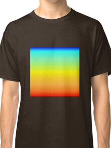 Color Gradient - Red | Orange | Yellow | Cyan | Blue Classic T-Shirt