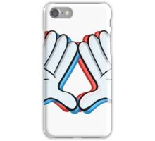 Stereoscopic swag hand iPhone Case/Skin