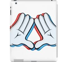 Stereoscopic swag hand iPad Case/Skin
