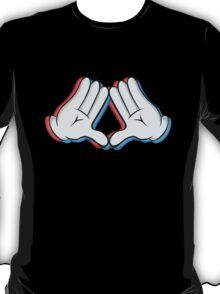 Stereoscopic swag hand T-Shirt