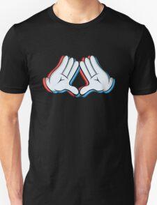 Stereoscopic swag hand Unisex T-Shirt