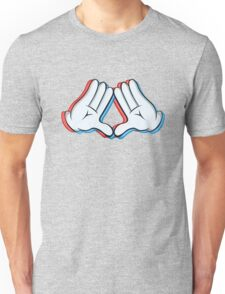 Stereoscopic swag hand Unisex T-Shirt