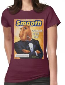 Smooth Character  Womens Fitted T-Shirt