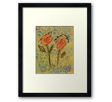 one for you one for me Framed Print