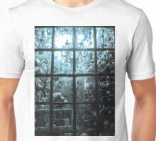 YULE WINDOW, THE APOTHECARY, HAWORTH Unisex T-Shirt
