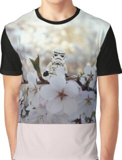 Lego Stormtrooper X Cherry Blossoms Graphic T-Shirt