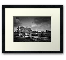 the early days Framed Print