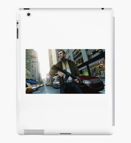 Gta 4 Niko iPad Case/Skin