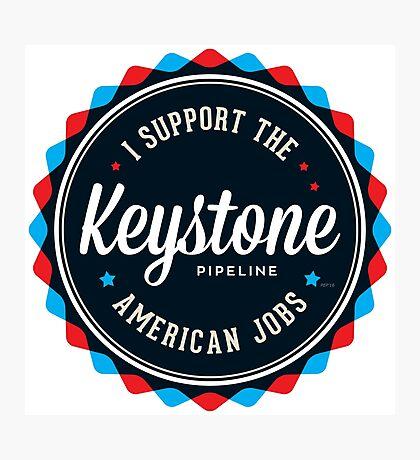 Keystone Pipeline Photographic Print