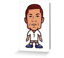 Cristiano Ronaldo, Real Madrid Greeting Card
