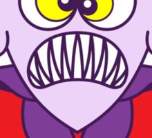 Scary Halloween Dracula Emoticon Sticker