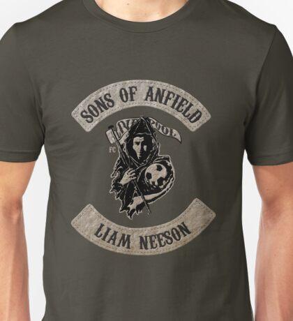 Sons of Anfield - Famous Fans, Liam Neeson Unisex T-Shirt
