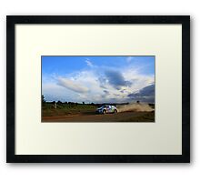 Afternoon Polo Framed Print