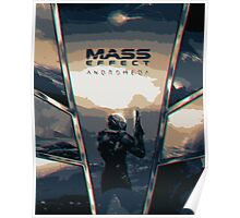 Mass Effect Andromeda Cover Poster