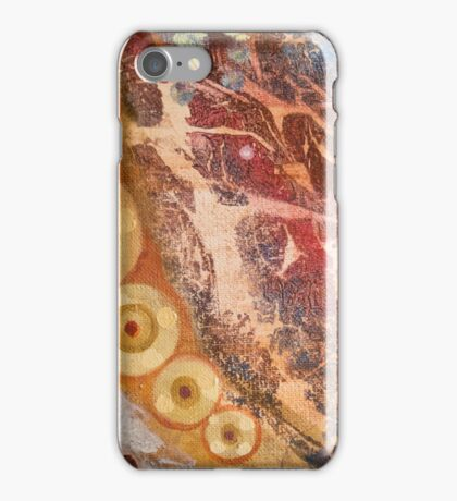 abstraction August iPhone Case/Skin