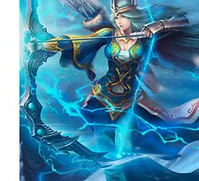 Ashe League of Legends by gleviosah