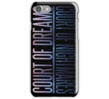 the two courts iPhone Case/Skin