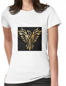 royal bird Womens Fitted T-Shirt