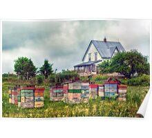 Farmhouse in Nova Scotia Poster