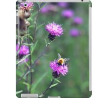 Little Bee on Thistles iPad Case/Skin