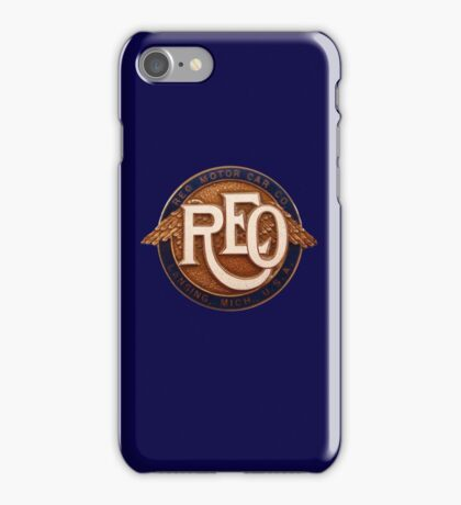 REO MOTOR iPhone Case/Skin