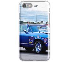 1969 Chevelle Malibu 'Muscle Performance' iPhone Case/Skin