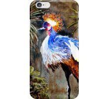 Exotic bird iPhone Case/Skin