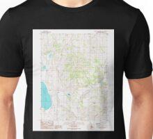 USGS TOPO Map California CA West of Snowstorm Mtn 102446 1989 24000 geo Unisex T-Shirt