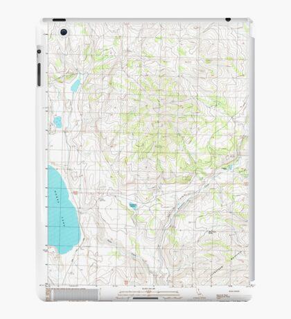 USGS TOPO Map California CA West of Snowstorm Mtn 102446 1989 24000 geo iPad Case/Skin