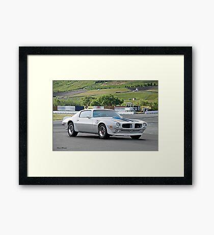 1970 Pontiac Trans Am 455 H.O. Framed Print
