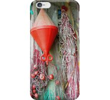 Fishing colors iPhone Case/Skin
