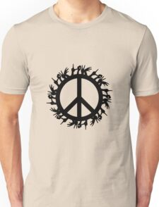 peace love Unisex T-Shirt