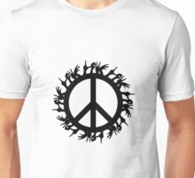 peace love Unisex T-Shirt