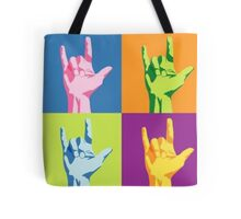 ASL-I Love You Sign Tote Bag