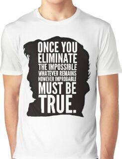 sherlock impossible Graphic T-Shirt