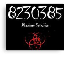 Abraham Setrakian - The Strain Canvas Print