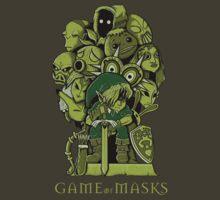 GAME OF MASKS by Fernando Sala