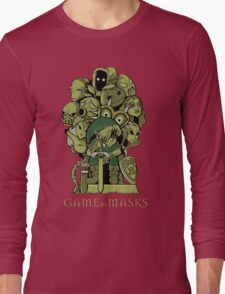 GAME OF MASKS Long Sleeve T-Shirt