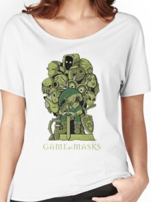 GAME OF MASKS Women's Relaxed Fit T-Shirt