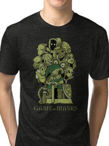 GAME OF MASKS Tri-blend T-Shirt