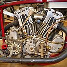 Burt Munro Special Indian Scout Engine by Frank Kletschkus
