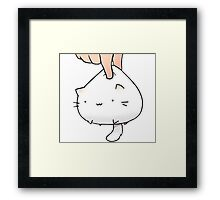 Moving Cat Framed Print