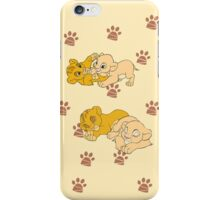 Simba and Nala iPhone Case/Skin