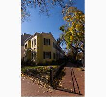 Washington, DC Facades – Sharp Autumn Shadows in Foggy Bottom Neighborhood Unisex T-Shirt