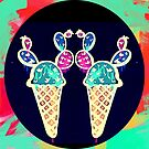 Double Cone Ice Cream by Melissa de Klerk