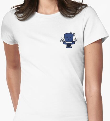 Tippy the Top Hat '18 Womens Fitted T-Shirt