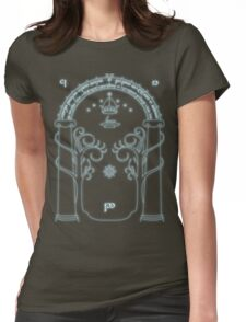 The Doors of Durin Womens Fitted T-Shirt